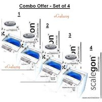 Whirlpool - SCALEGON SCALE REMOVER FOR WASHING MACHINE - ( Set Of 4)