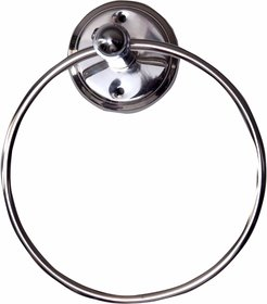 SSS Stainless Steel Chrome Bathroom Towel Ring