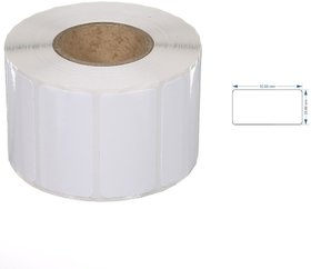 ORIGINAL AVERY CHROMO BARCODE LABLES, 50mmX25mm, 1UP Across, 1 inch Core, 2000 LABELS IN 1 ROLL 5Roll pack 2000x510000