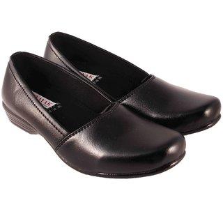 Vinayak Collection Black Formal Shoes For Women