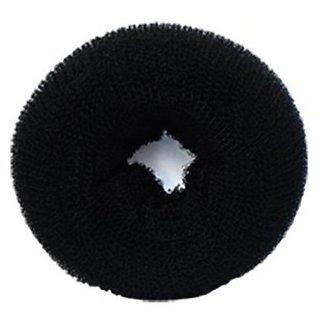 styling hair  donut hair bun (black)