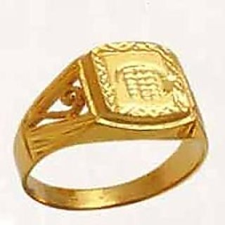 Mens Gold Rings In India Shopclues Online