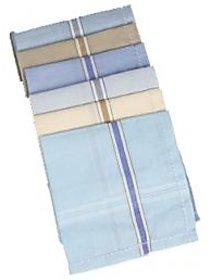 Luxmi Pack of 12 cotton Multicolor Handkerchief For Men