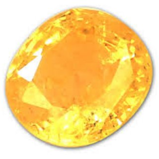 7 Ratti Super Quality Natural Yellow Topaz ,Substitute of Yellow Sapphire, Pukhraj