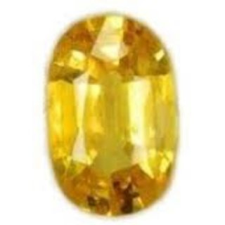 7.50 Ratti Super Quality Natural Yellow Topaz ,Substitute of Yellow Sapphire, Pukhraj