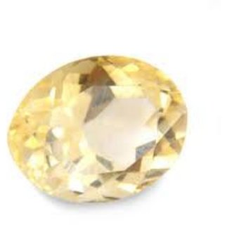 9.25 Ratti Super Quality Natural Yellow Topaz ,Substitute of Yellow Sapphire, Pukhraj