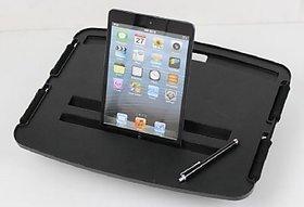 FUTURONICS- Smart Laptop/iPad Tray with Cushion (Black)