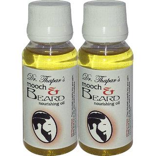 Mooch  Beard Nourishing  Growth Oil 60 (Pack of 2)