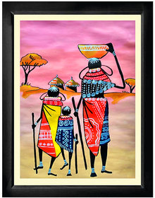 Tribals Painting Framed