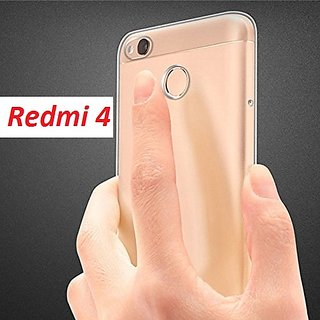 Transparent Back cover for Redmi 4