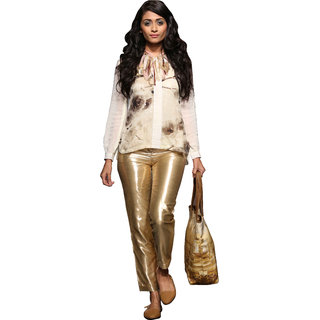 Love From India - Front Sequin Floral Design Shirt
