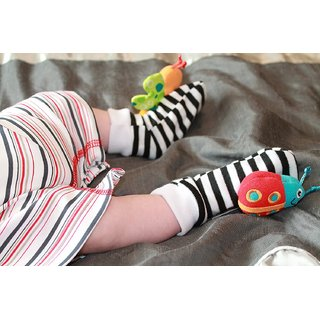 Kuhu Creations Baby Leg Foot Rattle Toys