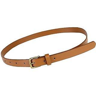 Luxmi Attractive plain Design Belt For Ladies  Girl  - Beige