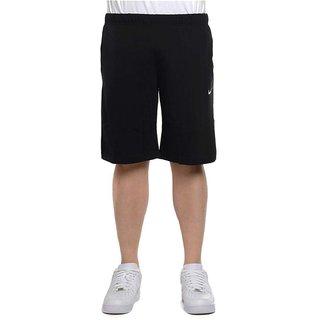 Nikemen Black Polyester Shorts