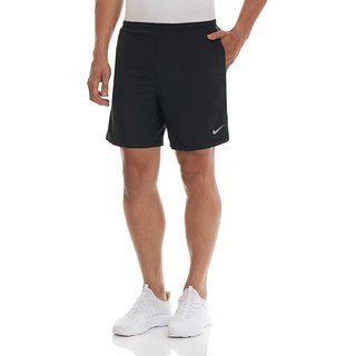 Nikemen Black Polyester Shorts