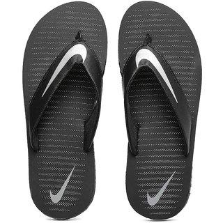 Nike Men Black Chroma Thong V Flip-Flops