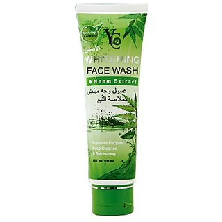 YC WHITENING FACE WASH (NEEM EXTRACT).