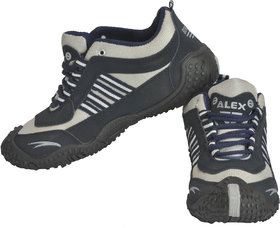 Alex Bindas Blue Synthetic Sports & Running Outdoor Shoes for Men