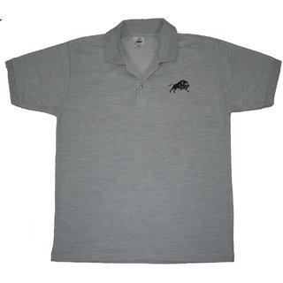 Collar Matte Grey BULL DESIGN Tshirt Xl Size