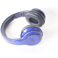 SMS Audio Wired Street By 50 Cent Over-Ear Headphones With Mic By Callmate-Blue