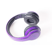 SMS Audio Wired Street By 50 Cent Over-Ear Headphones With Mic ByCallmate Purple