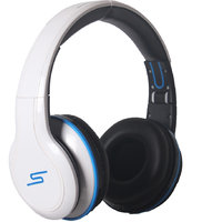 SMS Audio Wired Street By 50 Cent Over-Ear Headphones With Mic By Callmate - WH