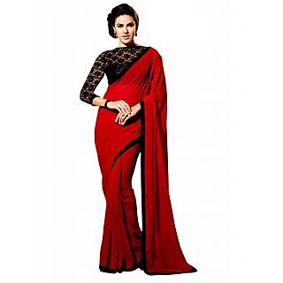 106bb4b43544 Shop bhuwalfashion designer semi chiffon saree with fancy blouse ...