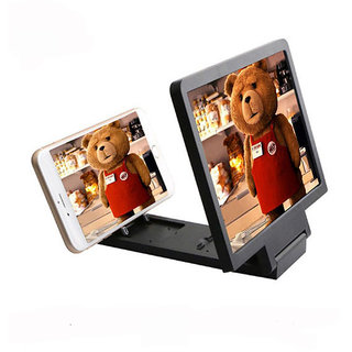 3D Folding Mobile Phone Screen Magnifier Stand