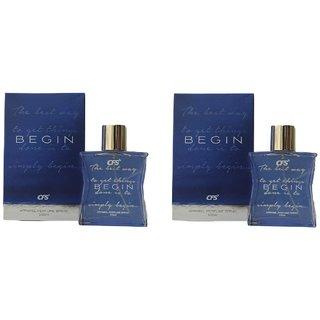 CFS Exotic  Begin Combo Perfumes 100ML  100ML