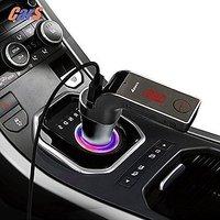 ROOQ LED Display Bluetooth Hands-free Car Kit FM Transm