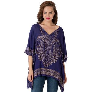 Secret Bazaar's Glamorous Purple Colored Casual Wear  Kaftan