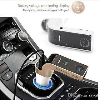 Nyubi car G7 Bluetooth FM Transmitter With USB Flash Drives /TF Music Player Bluetooth Car kit USB Car charger