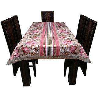 ed414ce9e70 Buy Art House PVC High Grade Dining Table Cover 6 Seater (L  78