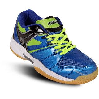 Kwickk Badminton Kids Shoes Exceed Blue