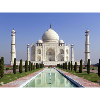 Tajmahal Photo Frame - Front View