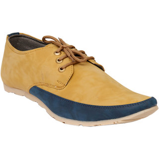 Stylos Men's 1551 Tan Synthetic Casual Shoes