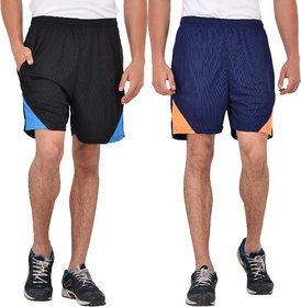 Combo Pack of 2 Knee Length Shorts