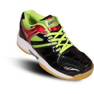 Kwickk Badminton Kids Shoes Exceed Black
