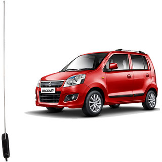 Autofy Premium Quality Roll Up AM/FM Car Antenna For Maruti Suzuki Wagon R (Chrome And Black)