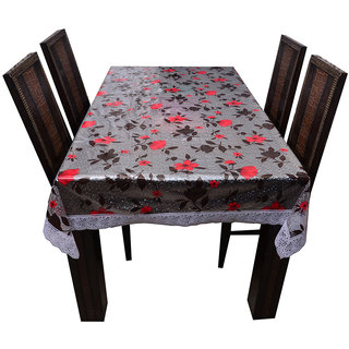 The Trendy Dining Table Cover Printed 3-D 8 Seater 60x90  inches
