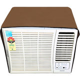 Glassiano Beige Colored waterproof and dustproof window ac cover for Lloyd LW19A5X 1.5 ton 5 star ac