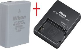 Nikon EN-EL14A  Battery + CHARGER for D-3100, D5100  P700 FREE CABLE + WARRANTY
