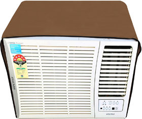 Glassiano Beige Colored waterproof and dustproof window ac cover for LG 1.5 Ton LWA5CP3F 3 star Air Conditioner