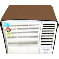 Glassiano Beige Colored waterproof and dustproof window ac cover for Voltas 1 Ton 3 star AC 123 Lyi