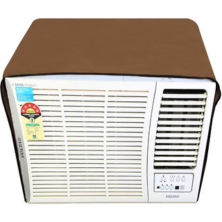 Glassiano Beige Colored waterproof and dustproof window ac cover for Whirlpool 1.5 Ton 5 star AC Magicool Copr