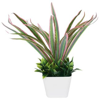 Adaspo Artificial Grass Tree With Beautiful Look In Melamine Pot