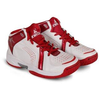 KWICKK BasketBall Kids Shoe Slam Dunk White