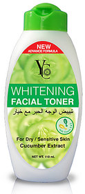 YC WHITENING FACIAL TONER FOR DRY/SENSITIVE SKIN (CUCUMBER EXTRACT).