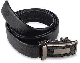 AFIYA-16 Black Belt for Men (Non Leather
