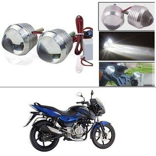 AutoStark Ultra Bright Scooty/Motorcycle/Bike White Flasher Led Fog Light- Set Of 2 For Bajaj Pulsar 150